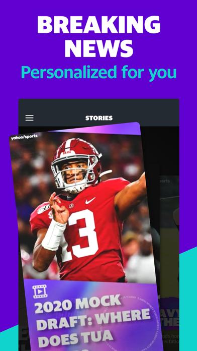 Yahoo Sports: Live Sports News Screenshot