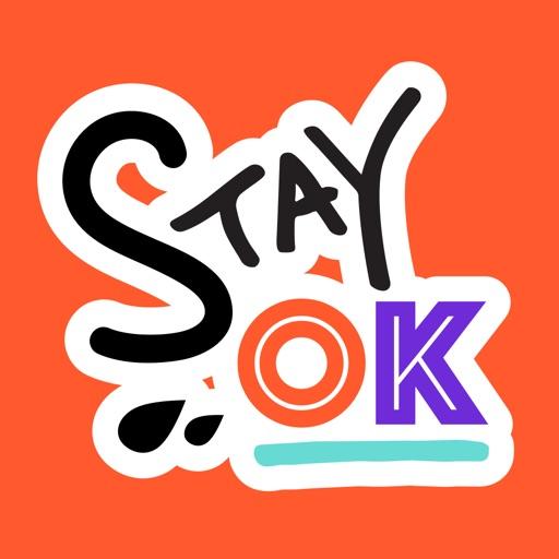 Stay OK Stickers