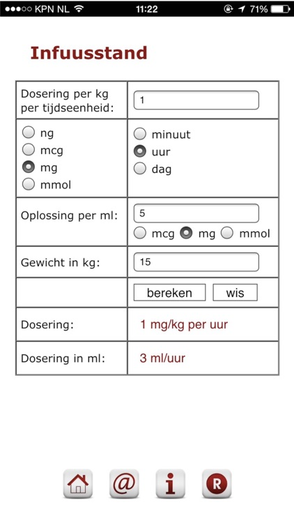 Iv-calculator