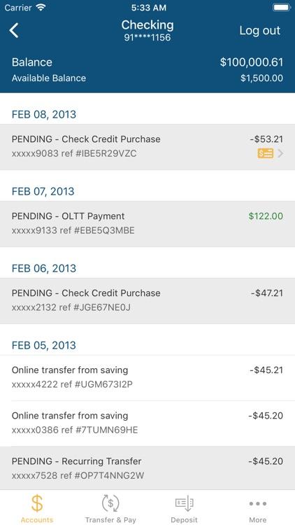 Access Credit Union Mobile screenshot-3