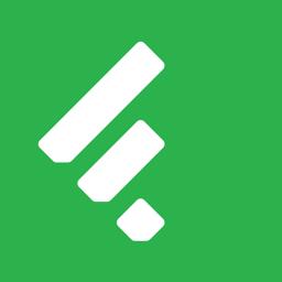 Ícone do app Feedly - Smart News Reader