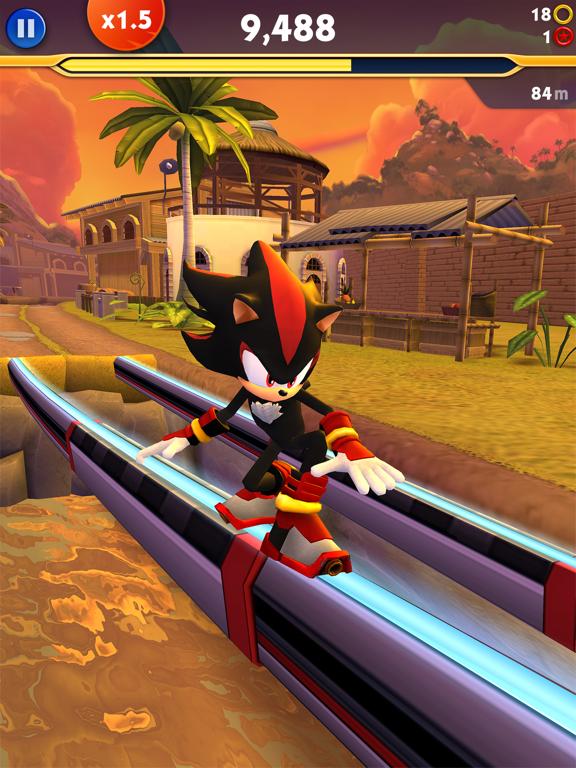 Sonic Dash 2: Sonic Boom screenshot