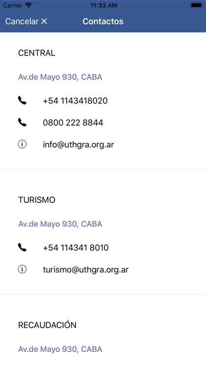 Uthgra móvil screenshot-3