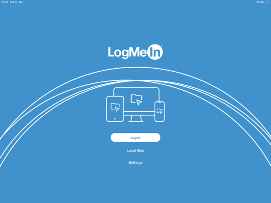 LogMeIn screenshot