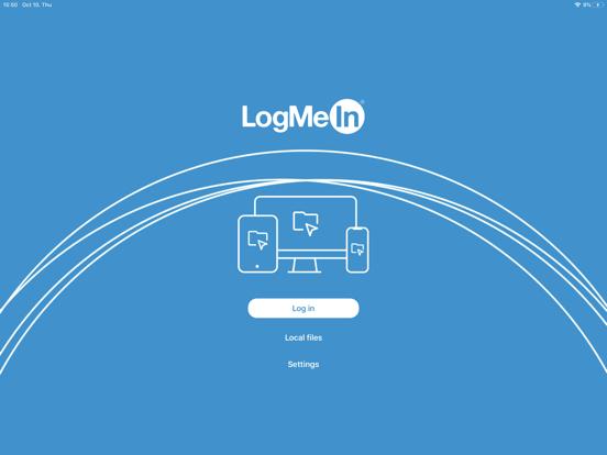 LogMeIn iPad app afbeelding 1