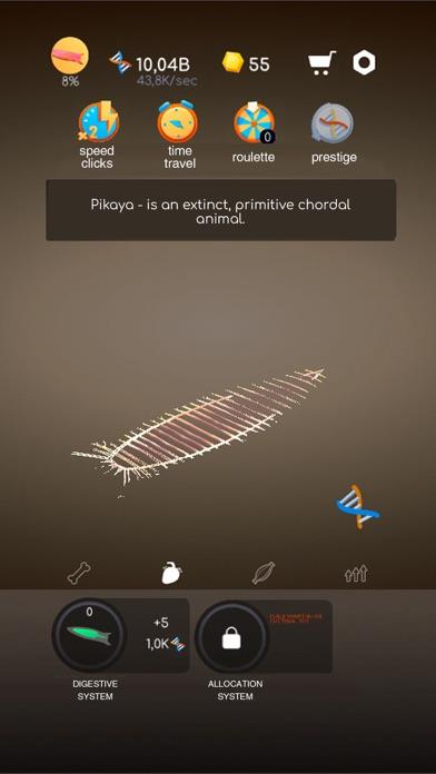 Скриншот №2 к Idle Evolution - Cell to Human