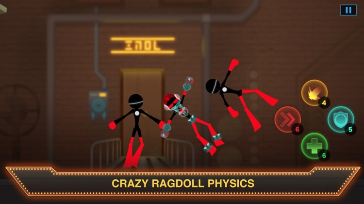 Ragdoll Sticked Man Fight screenshot-3