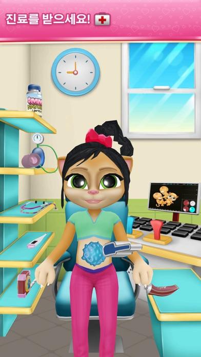 다운로드 임신한 말하는 고양이 게임 Emma Android 용