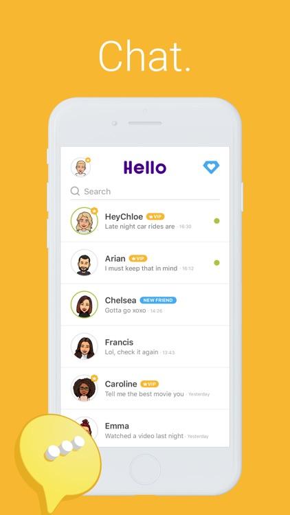 Hello - Talk, Chat & Meet
