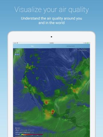 Скриншот из AirVisual Air Quality Forecast
