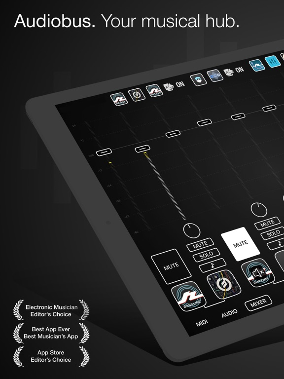 Audiobus: Mixer for music apps Screenshots