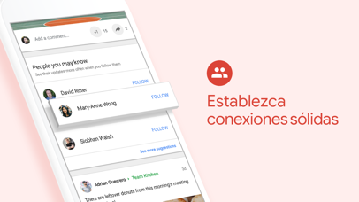 Screenshot for Google+ para G Suite in Ecuador App Store
