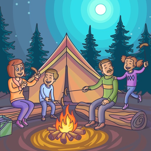 Family Fun Camping Day