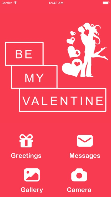 Be My Valentine - Greetings