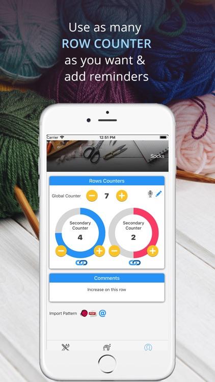 My Row Counter Knit Crochet By Annapurnapp Technologies Ug