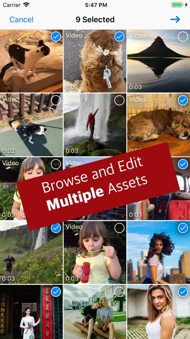 EXIF - Editor & Extension Screenshots