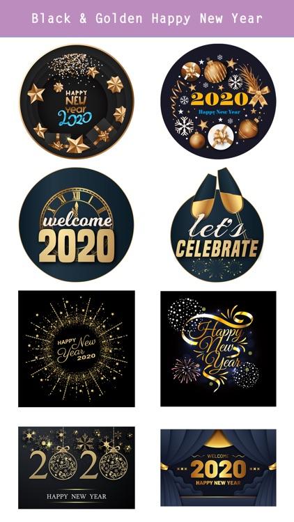Happy New Year - 2020 Stickers screenshot-4