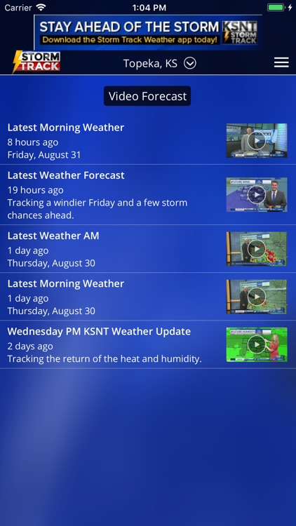 KSNT StormTrack screenshot-3