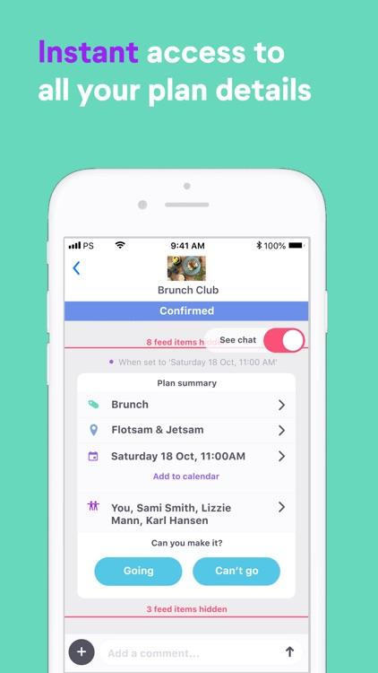 PlanSnap - Plan with friends screenshot-3