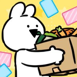 すこぶる動くウサギの大掃除 By 株式会社 Dk