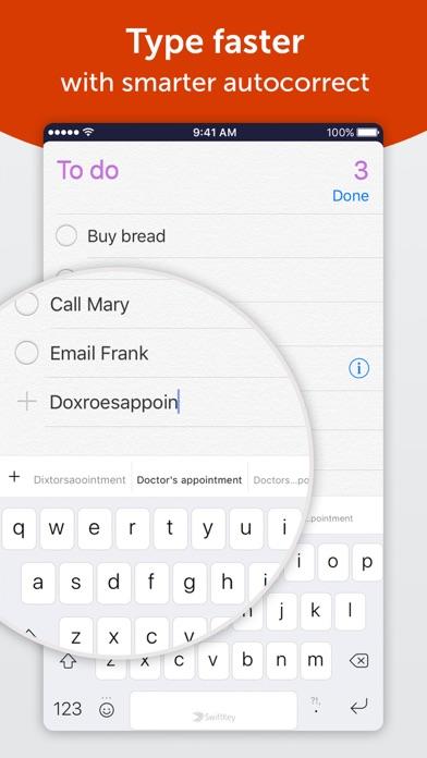 Screenshot for SwiftKey Keyboard in Denmark App Store