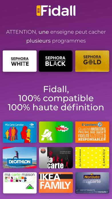Fidall loyalty cards screenshot three