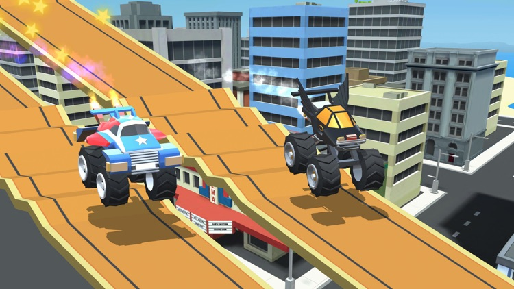 Stunt Racing Car - Sky Driving screenshot-3