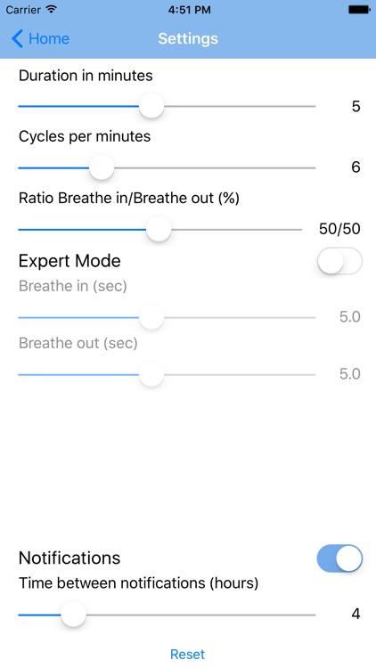 Cardiac Coherence Mindfulness screenshot-3