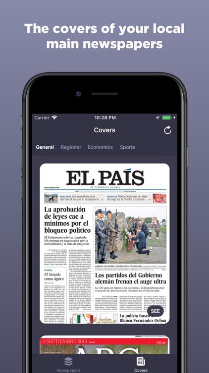Spain Newspapers screenshot-3