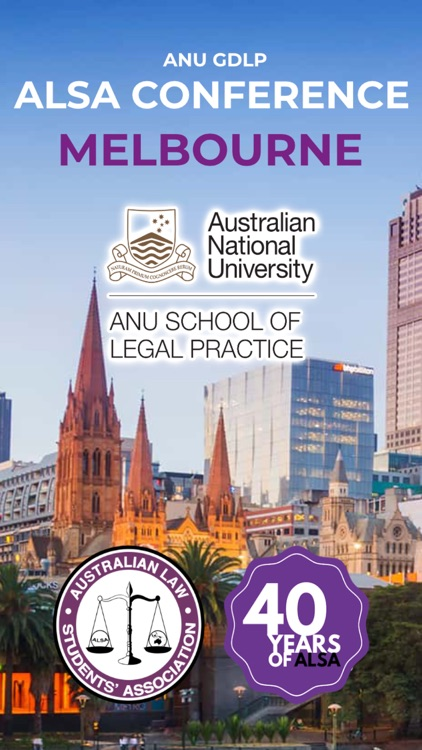 ALSA ANU GDLP Conference 2019 by Australian Law Students