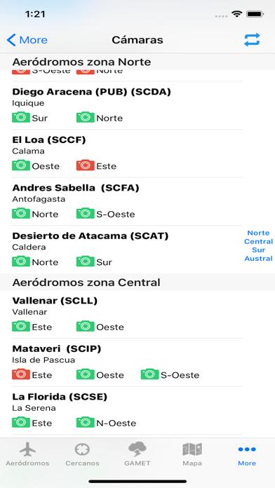 Aerodromos ChileCaptura de pantalla de4