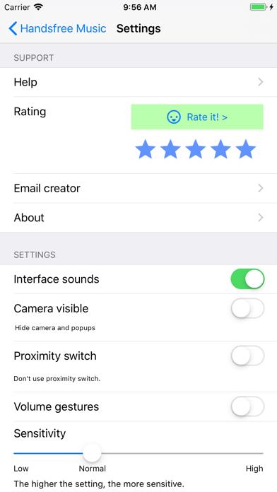 Hands-free Music screenshot three