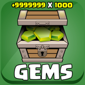 "Gems Calc for ""Clash of Clans"" icon"