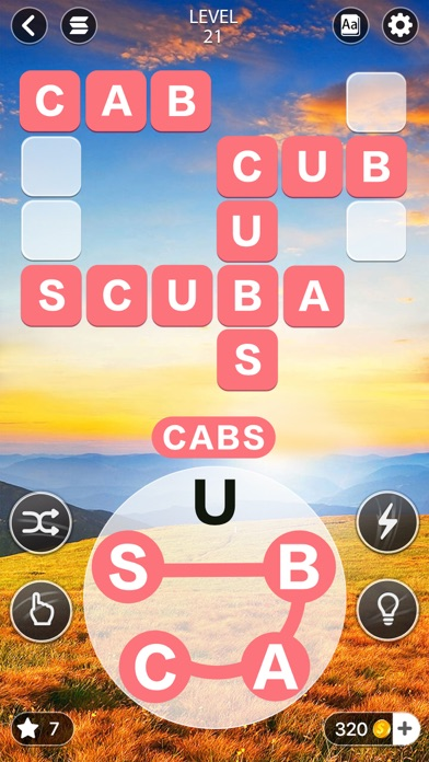 Word Calm -crossword puzzle free Coins hack