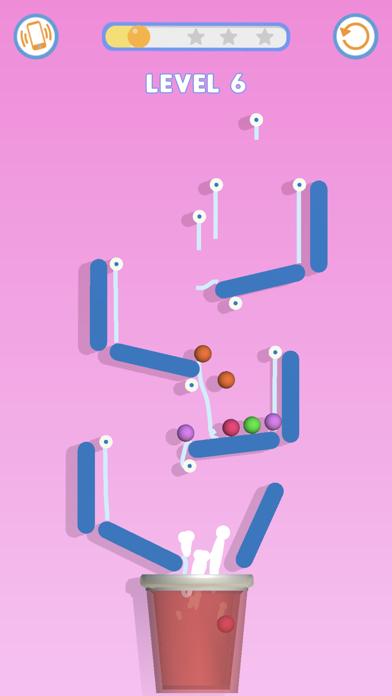 Rope & Ball: Cut it! screenshot 1