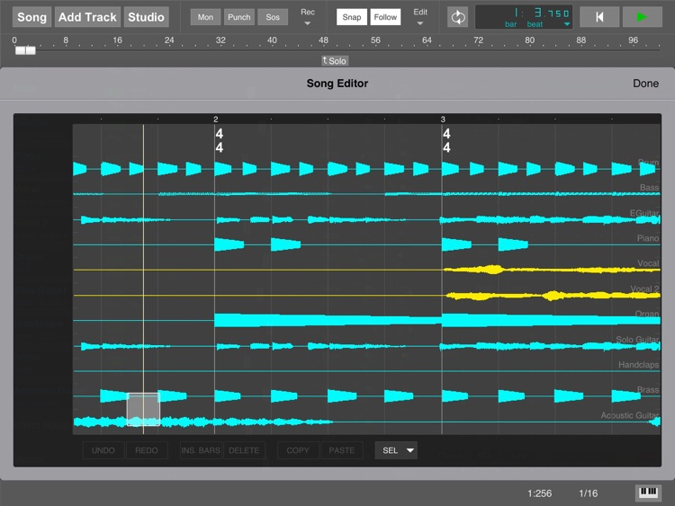 MultitrackStudio for iPad screenshot-9