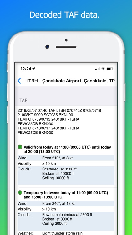 AeroPlus Aviation Weather screenshot-4