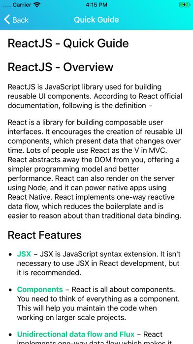 Learn React v16.9 screenshot 8