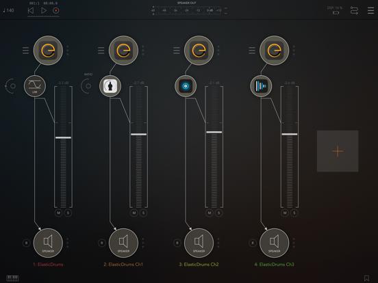 Elastic Drums