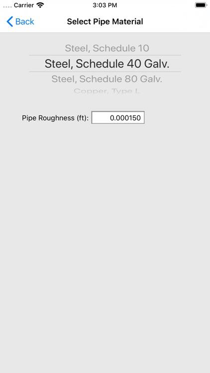 HVAC Pipe Sizer - Gas Plus screenshot-8