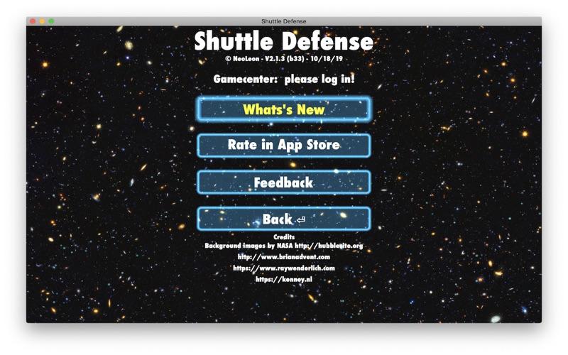 Shuttle Defense for Mac