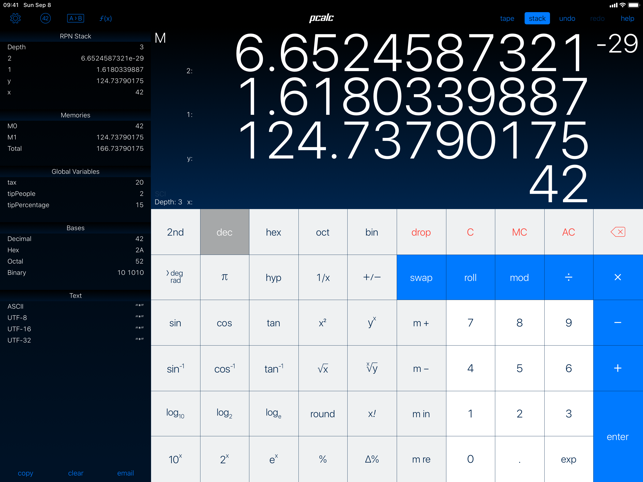 ‎PCalc Screenshot