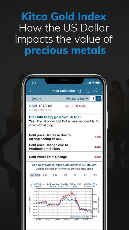 Gold Live! Gold Price, Silver screenshot-6