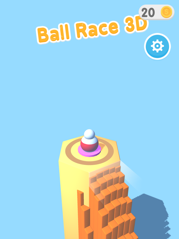 Ball Race 3Dのおすすめ画像1