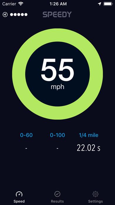 Speedy - Speedometer Screenshots
