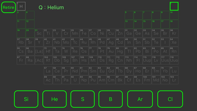 Learn science element symbol screenshot one
