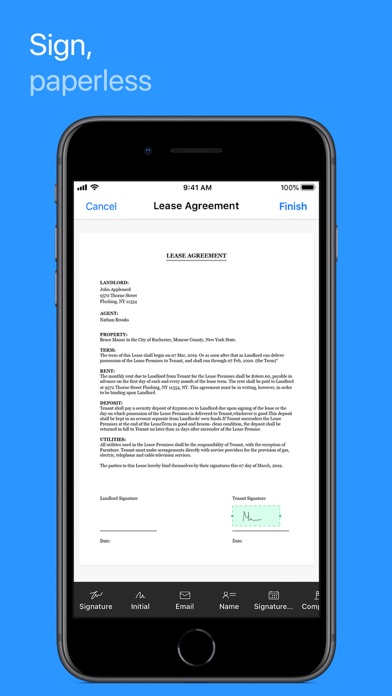 Zoho Doc Scanner - Scan PDFScreenshot of 3