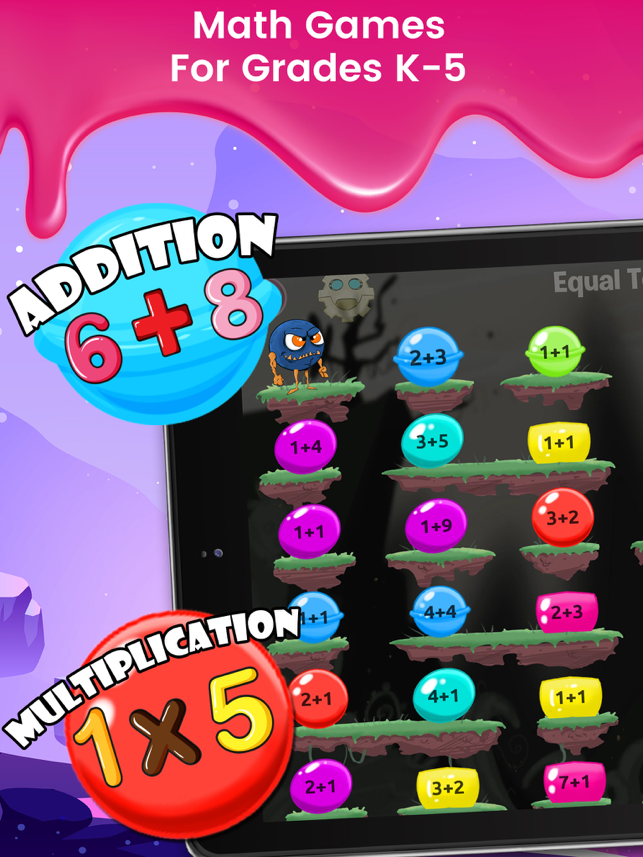 ‎Monster Math : Kids Fun Games Screenshot