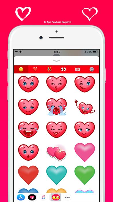 ラブ絵文字 - メッセージのかわいい絵文字のスクリーンショット10