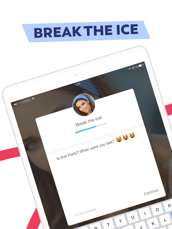 LOVOO – The New Free Chat App for finding Singles and Love via Dating Flirt Radar screenshot